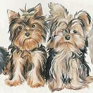 Yorkshire Terrier Puppies by BarbBarcikKeith