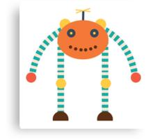 MY ROBOT FRIEND - 5 Canvas Print