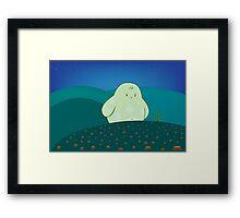 Forest guardian Framed Print