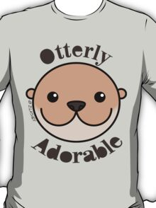 Otterly Adorable - Otter Face T-Shirt