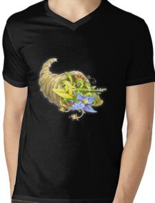 Glitch miscellaneousness invoking herb garden Mens V-Neck T-Shirt