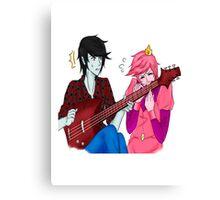 Princess and Vampire , Adventure Time Canvas Print
