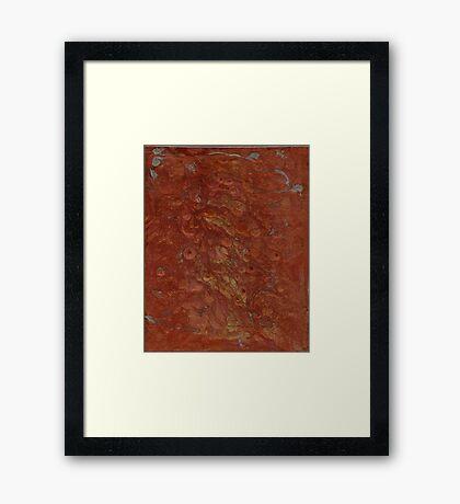 Fires of Arrakis Framed Print