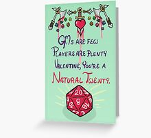 D&D Valentine Greeting Card