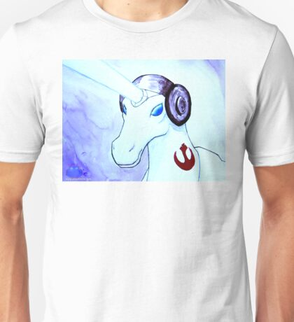 Unicorn Leia Unisex T-Shirt