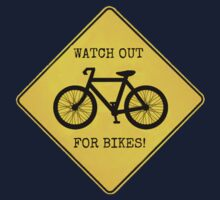 Watch Out For Bikes!! Kids Clothes