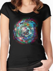Psychedelic SPACE... 2 Women's Fitted Scoop T-Shirt