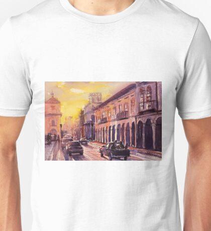 Cuenca street scene- Ecuador Unisex T-Shirt
