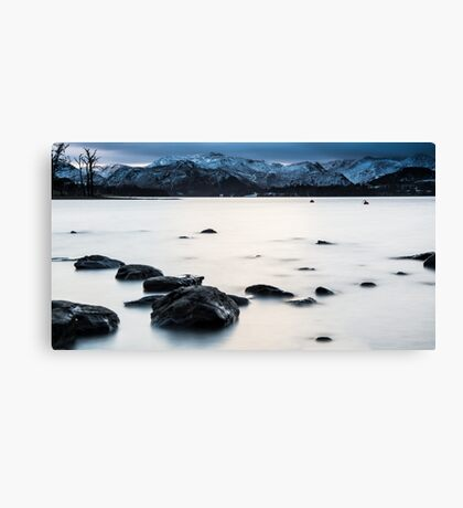 Long Exposure Lake Art Prints and Posters Canvas Print