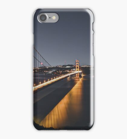 Long Exposure Golden Gate iPhone Case/Skin