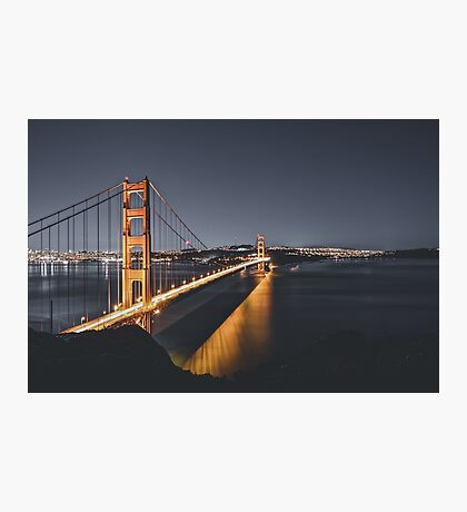 Long Exposure Golden Gate Photographic Print