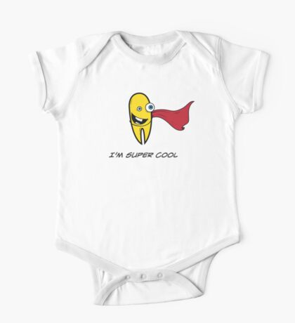 I'M SUPER COOL One Piece - Short Sleeve