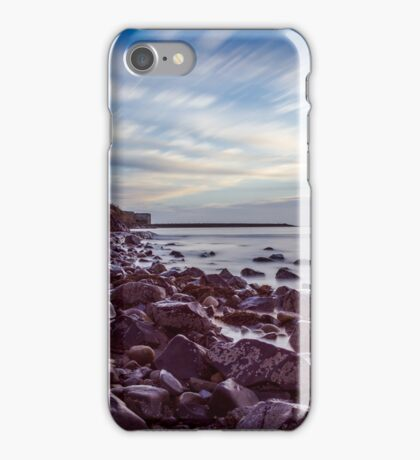 Long Exposure Island Castle Art Prints and Poster iPhone Case/Skin