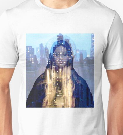 Saint Lucy over the alley. Unisex T-Shirt