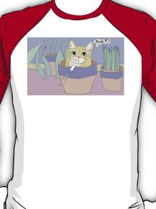 Cat And Spitball T-Shirt