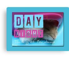 Thinking of You - Hamster 2 - Canvas Print