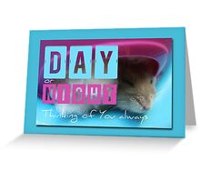 Thinking of You - Hamster 2 - Greeting Card