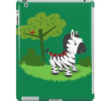 ZEBRA ROAD iPad Case/Skin
