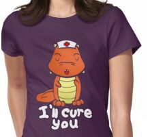 Rè The Little Dragon - Doctor Womens Fitted T-Shirt
