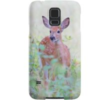 White Tailed Deer Fawn Samsung Galaxy Case/Skin