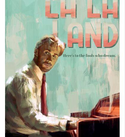 La La Land (Sebastian) Sticker