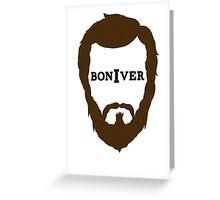 Bon Iver Greeting Card