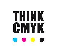 Think CMYK Photographic Print