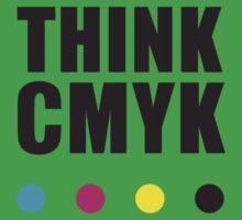 Think CMYK Kids Tee