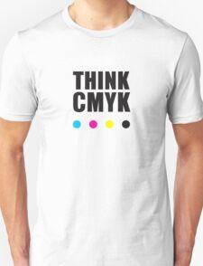 Think CMYK Unisex T-Shirt