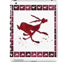 HARE IN A HURRY! iPad Case/Skin