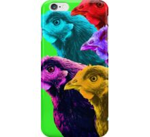 Chick fever III iPhone Case/Skin