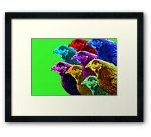 Chick fever III Framed Print
