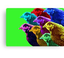 Chick fever III Canvas Print