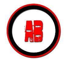 AB- = blood type Photographic Print