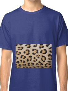 Leopard Pattern Background - Rosette of Beautiful Wonder Classic T-Shirt