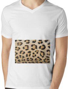 Leopard Pattern Background - Rosette of Beautiful Wonder Mens V-Neck T-Shirt