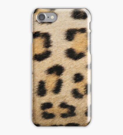 Leopard Pattern Background - Rosette of Beautiful Wonder iPhone Case/Skin