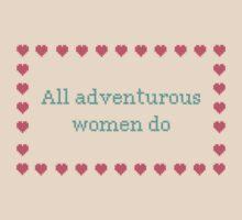 GIRLS. All adventurous women do T-Shirt