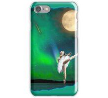 Aurora ballerina in the moon light iPhone Case/Skin