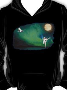 Aurora ballerina in the moon light T-Shirt