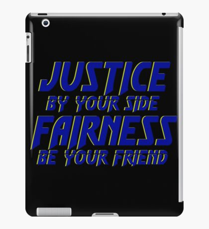 A Motto to Live By  iPad Case/Skin