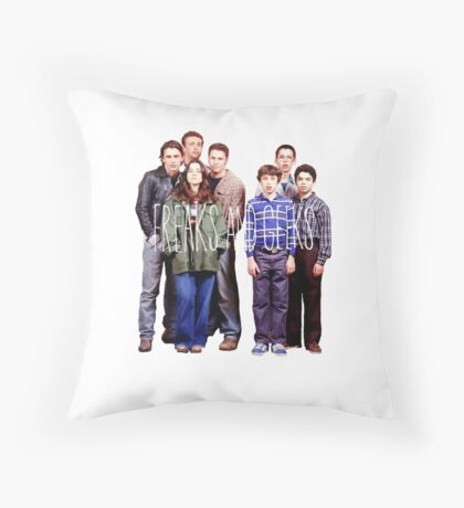 Freaks and Geeks Throw Pillow