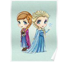 Anna & Elsa Poster