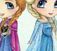 Anna & Elsa Sticker