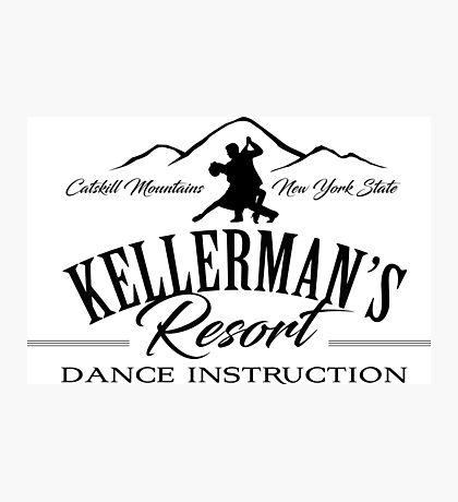 Kellerman Resort Dance Instruction Photographic Print
