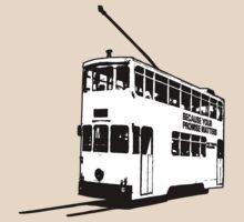 Hong Kong Tram by FredzArt