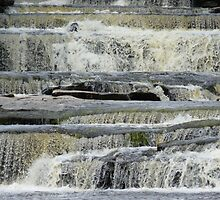 Aysgarth Falls, Yorkshire Dales by Graham Geldard