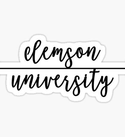 Clemson University Sticker