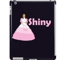 Kaylee - Shiny in a pink dress iPad Case/Skin