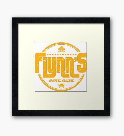Flynns Arcade Framed Print